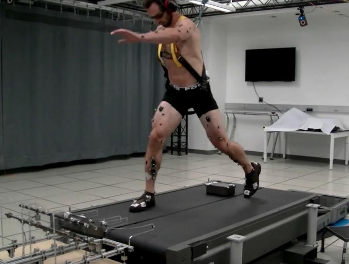 Stumbling Device Demonstrated