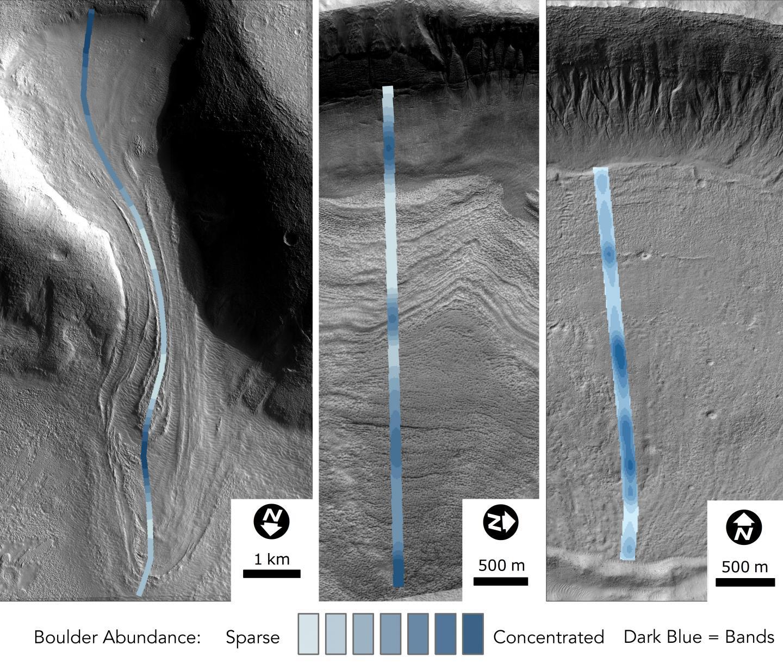 Mars Glacier Image