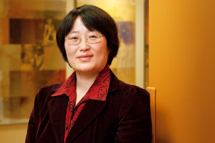 Professor Min Zhan, University of Illinois at Urbana-Champaign, News Bureau
