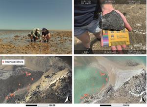 Northwest North Gidley Island artefacts in Western Australia
