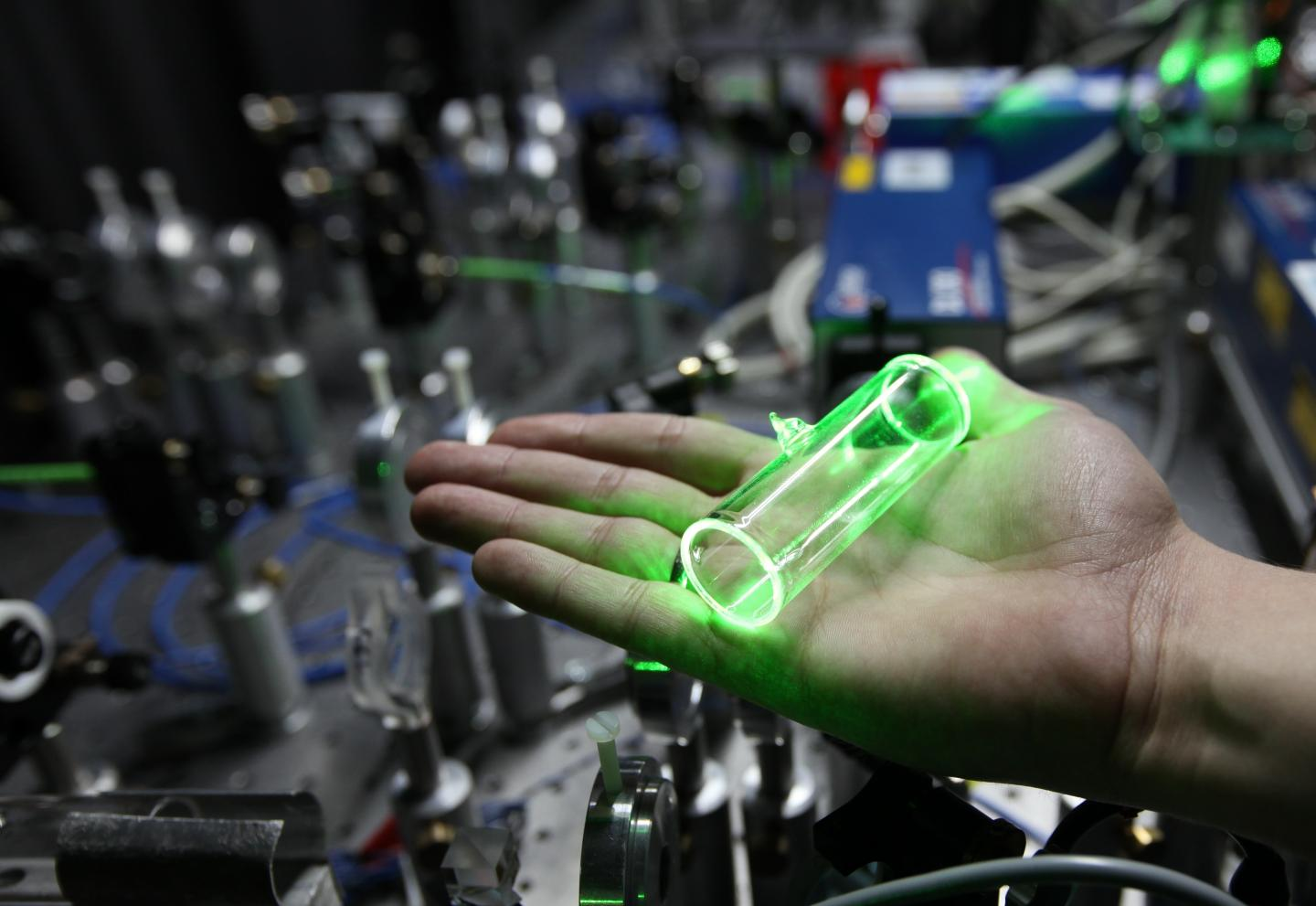 Source of Large Groups of Photons