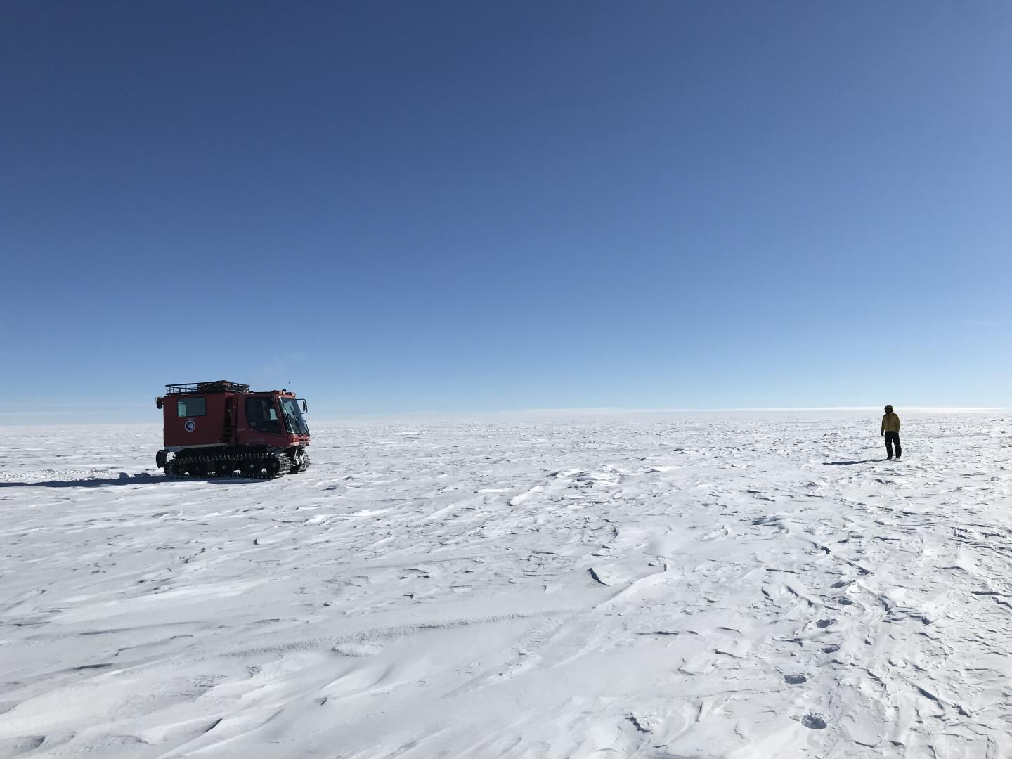 Researching the Antarctic Ice Sheet