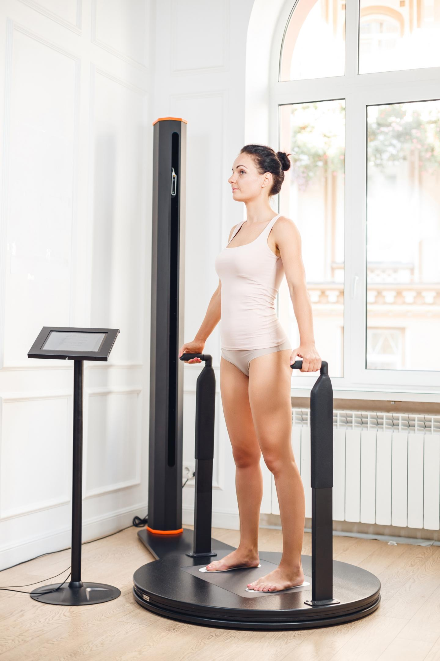 3D Body Scanners and Athletes