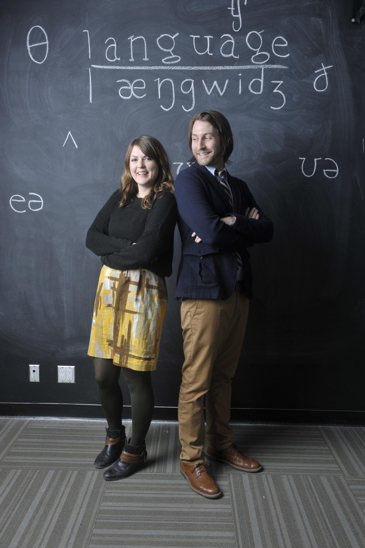 Cristina Rabaglia and Sam Maglio