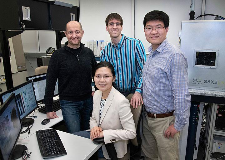 Brookhaven Lab Nanocube Team