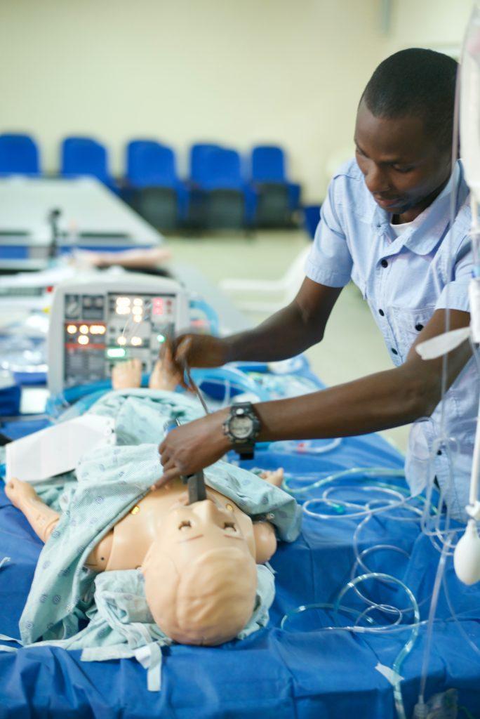 Gradian Comprehensive Care Ventilator Training, Kenya