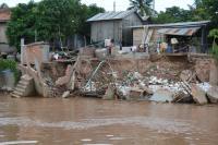 Mekong River Bank Collapse (1 of 2)