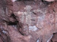 Human-Like Figure and Symbols