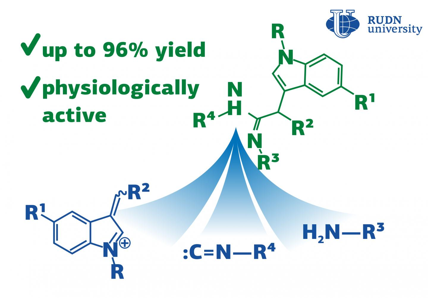 RUDN University Chemists Propose a One-Step Synthesis of Substances for Medicine
