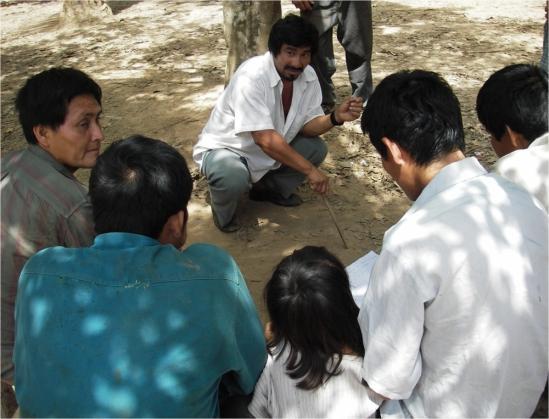 A Tsimane Leader Mediates a Dispute