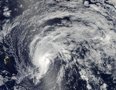Tropical Storm Flossie on July 28