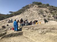Excavation in the upper deposits at Ewass Oldupa