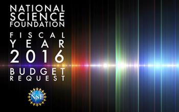 NSF Budget Request Graphic