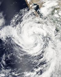 MODIS Image of Linda