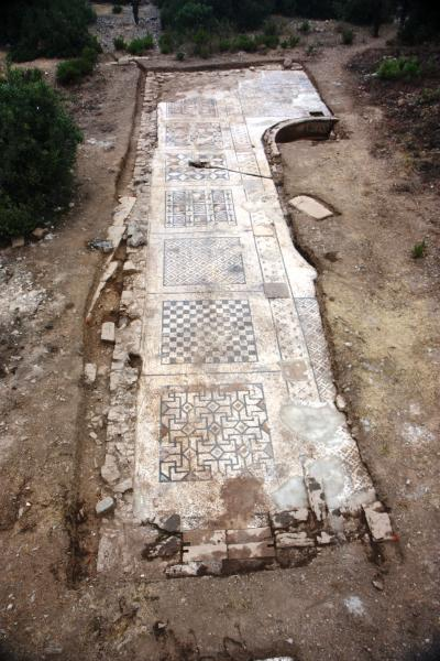 Giant Roman Mosaic Uncovered