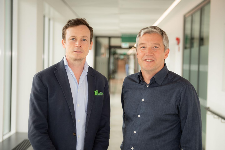 Martin Eklund and Tobias Nordström