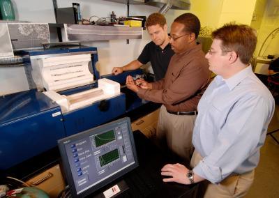 Examining Microelectromechanical Device