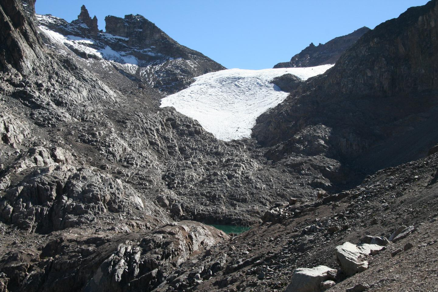 Disappearing Glacier