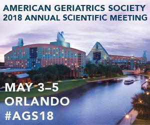 American Geriatrics Society (AGS) 2018 Annual Scientific Meeting (#AGS18)