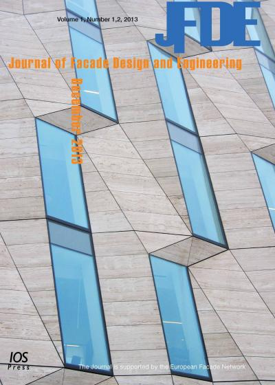 <i>Journal of Facade Design and Engineering</i>