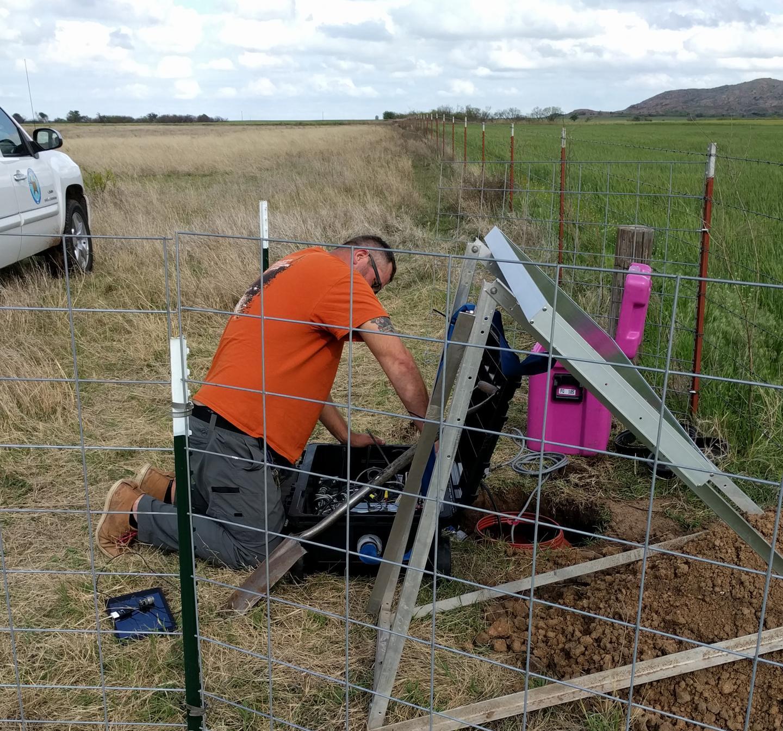Seismometer Installation