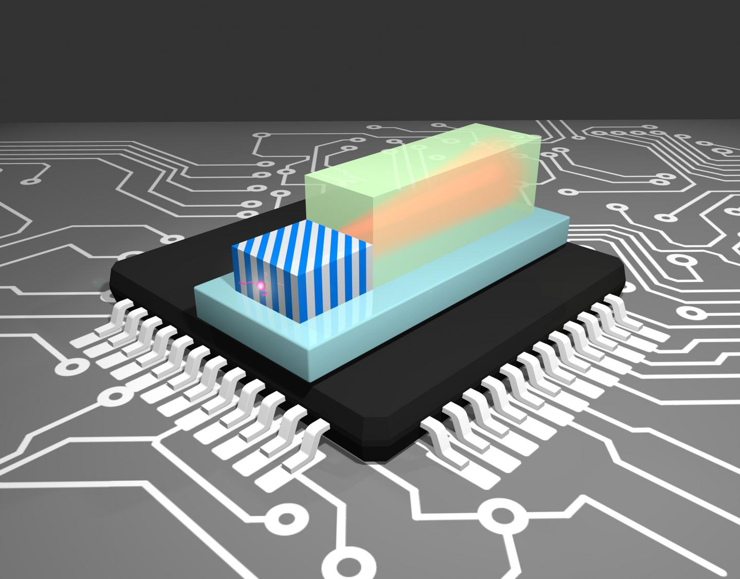 Broadband enhancement of the on-chip single photon extraction via tilted hyperbolic metamaterials