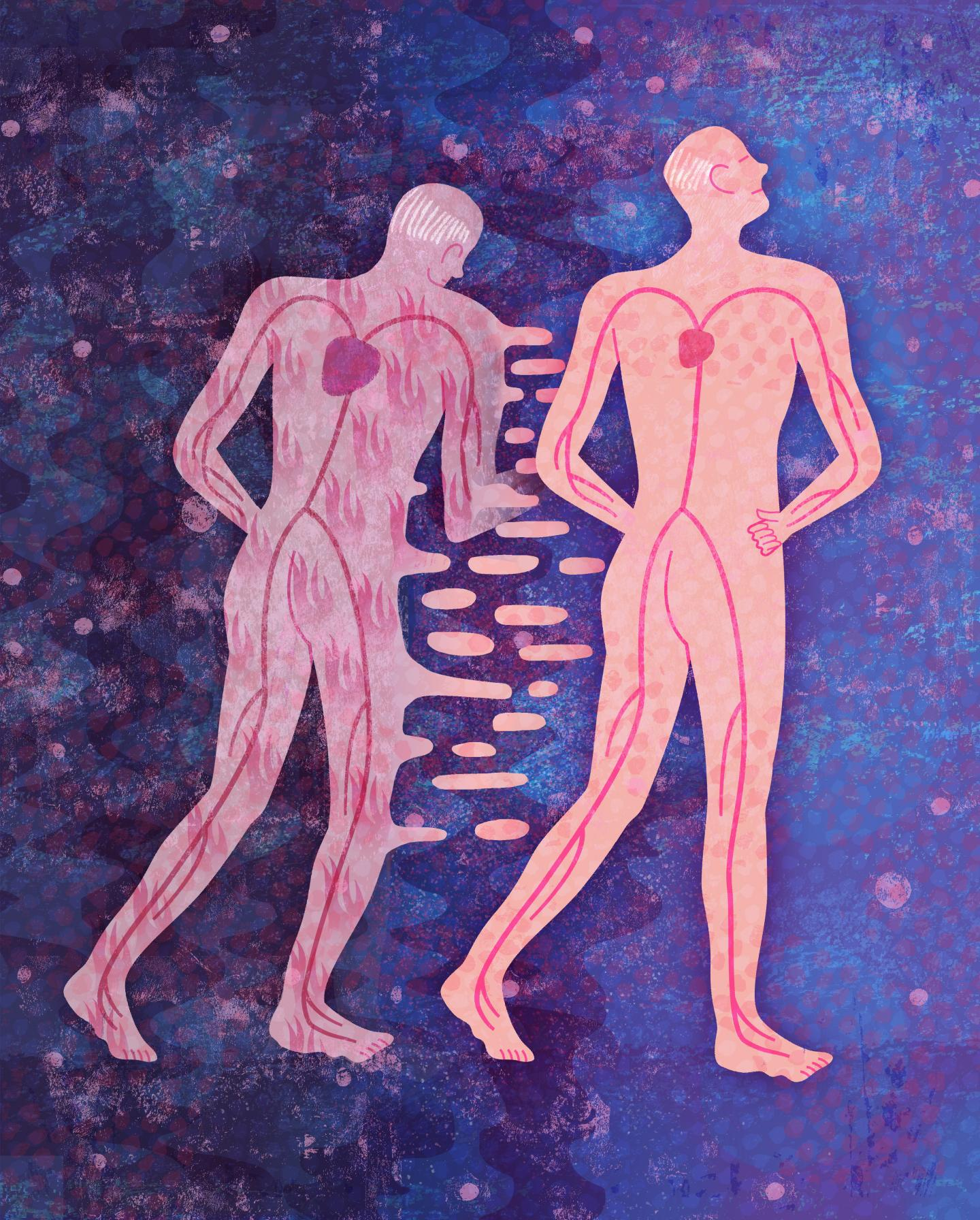 iAge predicts immunological health and chronic diseases of aging