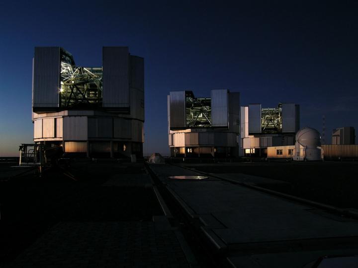 The Very Large Telescope in the Atacama Desert