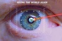 Light Based Non-Viral Gene Delivery Empowering the Blind to See Again
