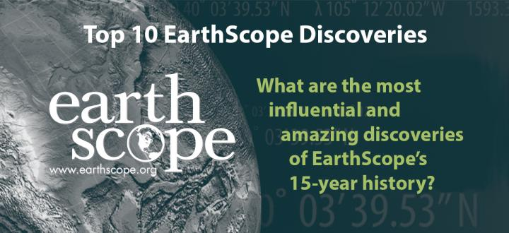 EarthScope Top 10 List Title Graphic