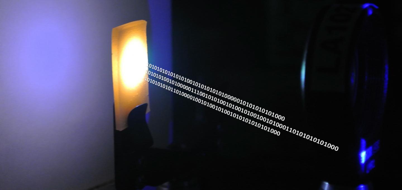 Light Data Transfer