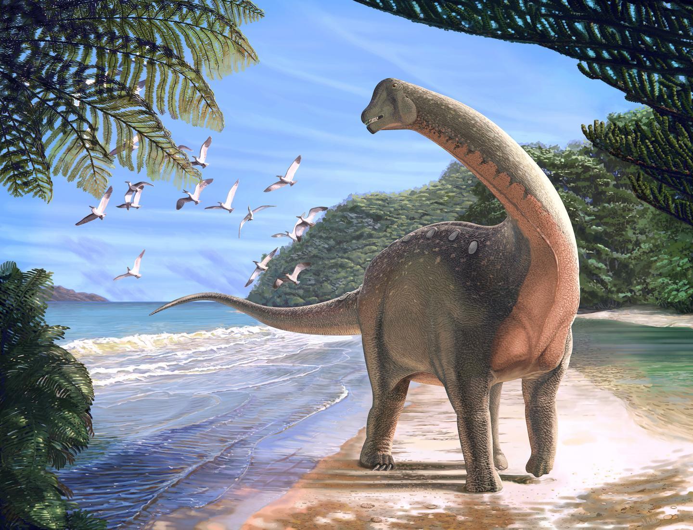 Mansourasaurus Life Reconstruction