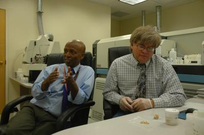 Yemane Asmerom and Victor Polyak, University of New Mexico