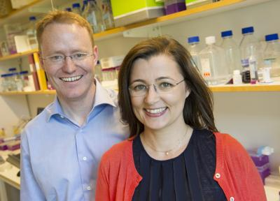 Björn Högberg and Ana Teixeira, Karolinska Institutet