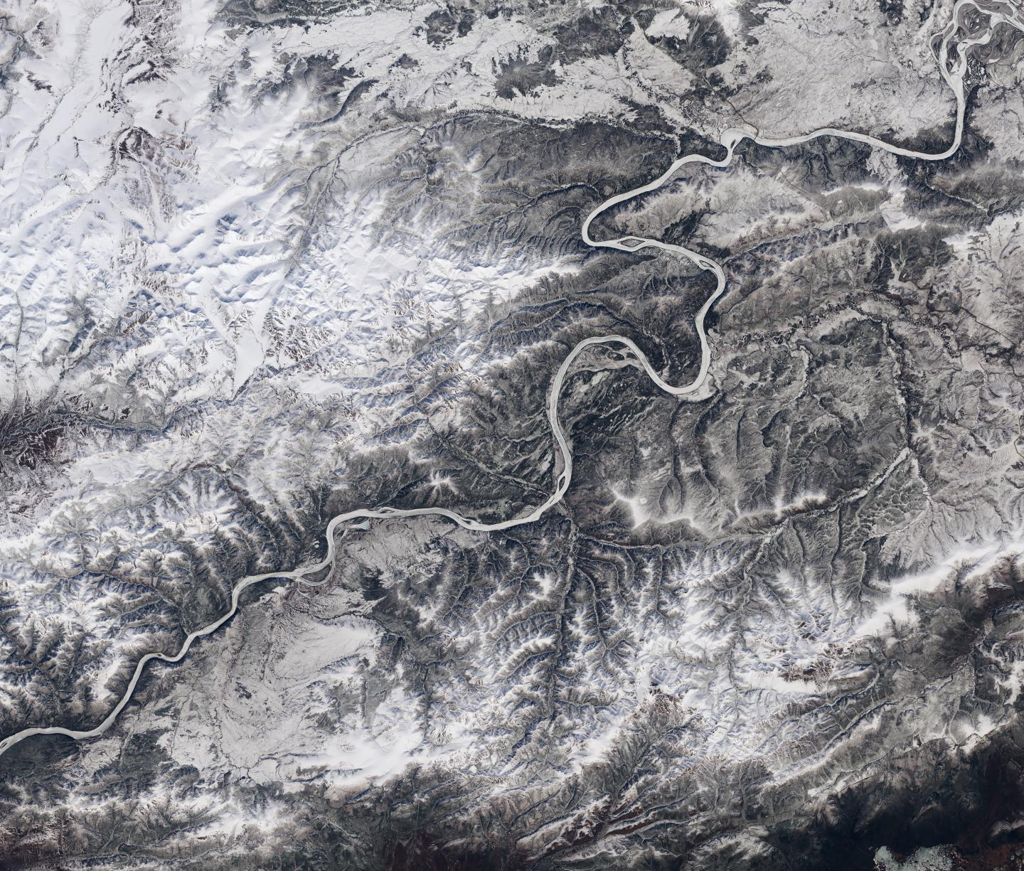 River Ice Cover