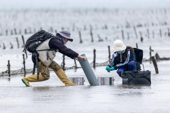 Fieldwork along the Chinese coast