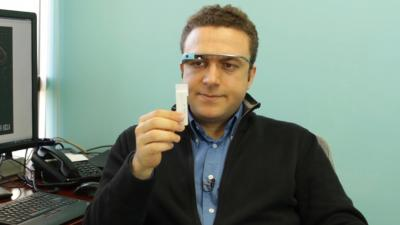 Scientists Use Google Glass to Map the Future of Medical Testing (Video)