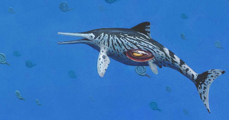 Life Reconstruction of <i>Ichthyosaurus</i>