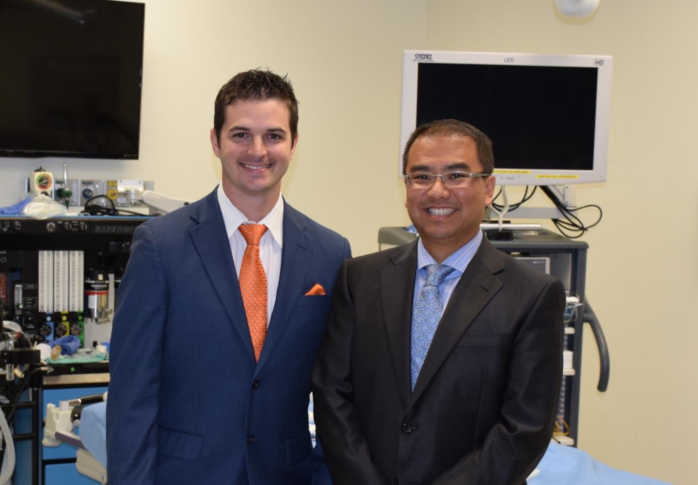 Drs. Shelby Lies and Andrew Zhang, University of Texas Medical Branch at Galveston