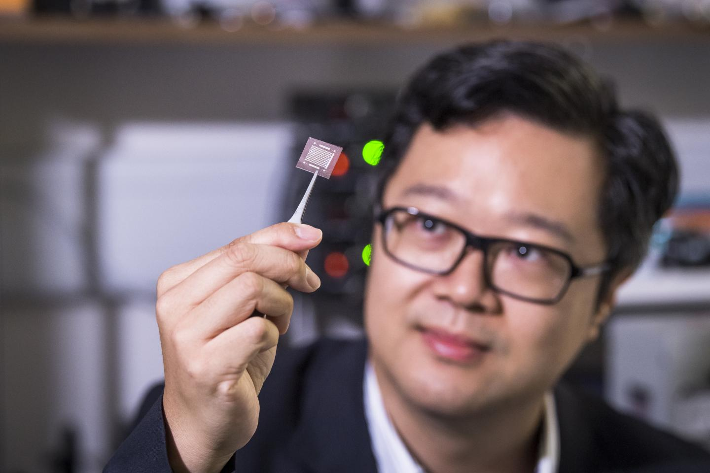 Professor Johnny Chung-yin Ho, Associate Head and Professor of the Department of Materials Science and Engineering at CityU.