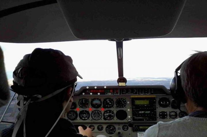 Pilot Study Subjects Wearing fNIRS Band
