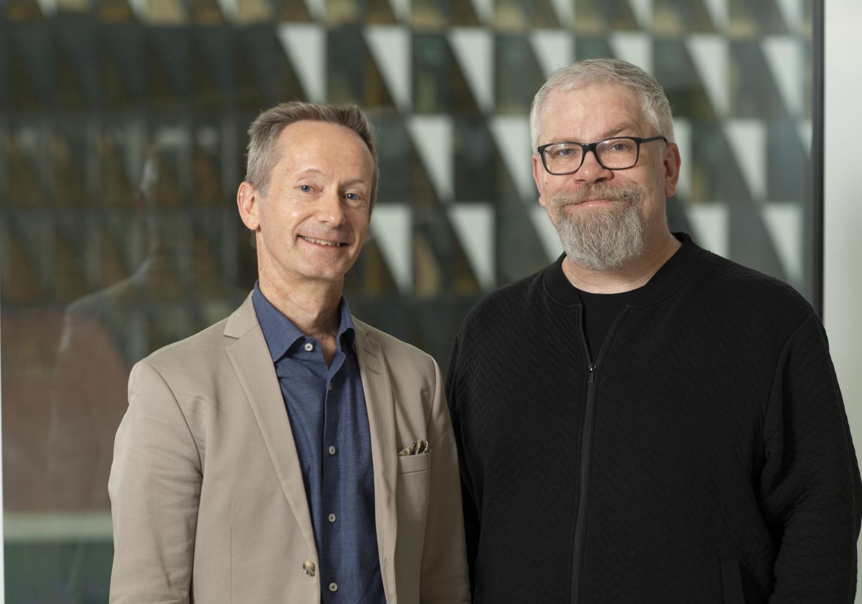 Klas Blomgren and Ola Hermanson, Karolinska Institutet