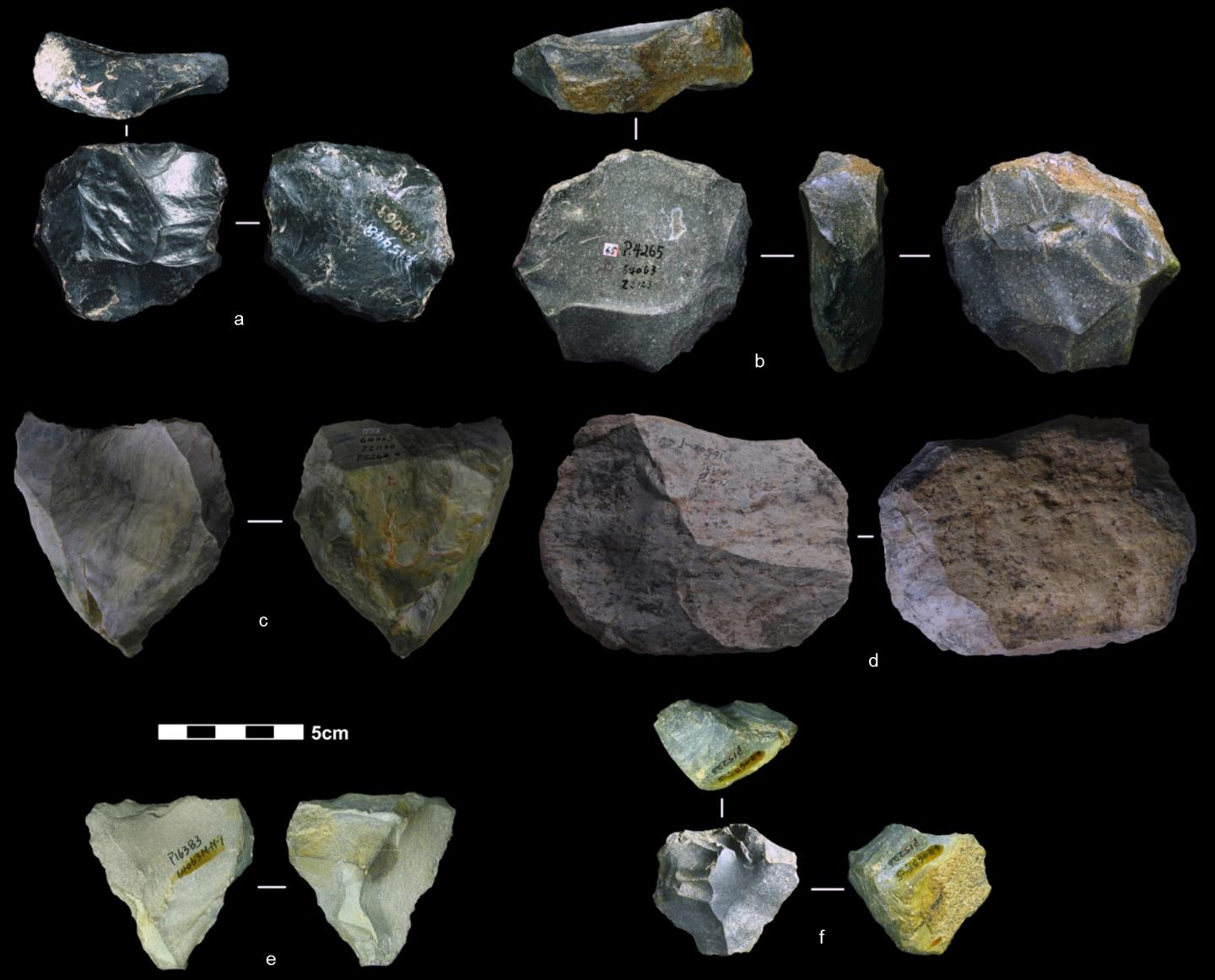 Levallois Artifacts Found in South China Cave