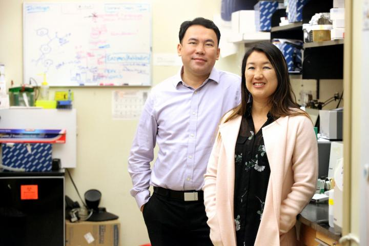 Dr. James Chou and Dr. Sherine Chan of the Medical University of South Carolina