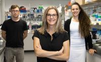 Dr. Adriana Di Polo, Dr. Luis Alarcon-Martinez and Deborah Villafranca-Baughman