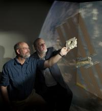 Ted Swanson and Matthew Showalter, NASA/Goddard Space Flight Center