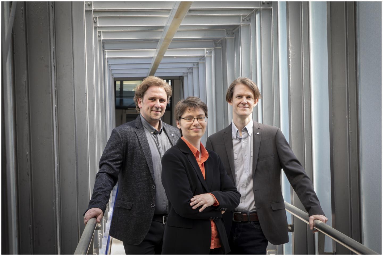 The Three Latest CD Lab Directors of Graz University of Technology