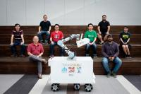 The NTU research team which developed XDBOT