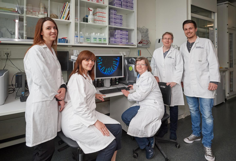 Jessica Koenig, Dr. Julia Vorac, Dr. Heike Weighardt, Dr. Irmgard Foerster and Oliver Schanz