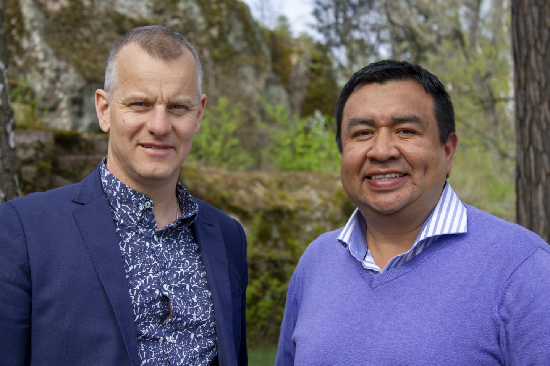 Martin Hallbeck and Juan Reyes, Linköping University